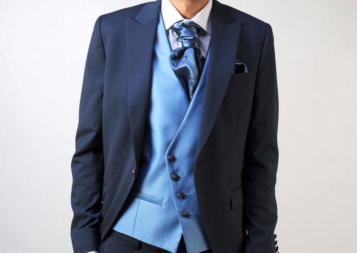 Cómo combinar la corbata con el traje de novio