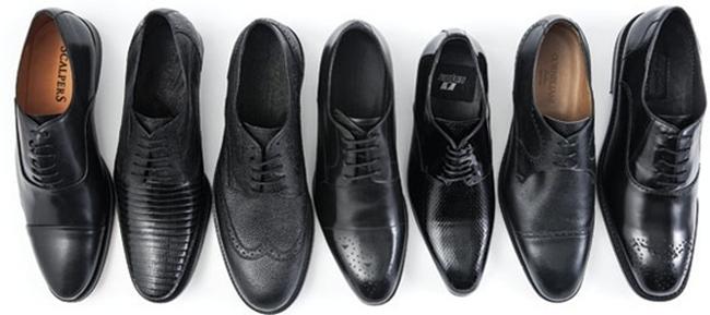Tipos de zapatos de novio