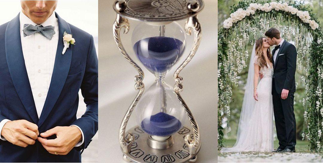 ¿Cuál es el tiempo necesario para organizar una boda?