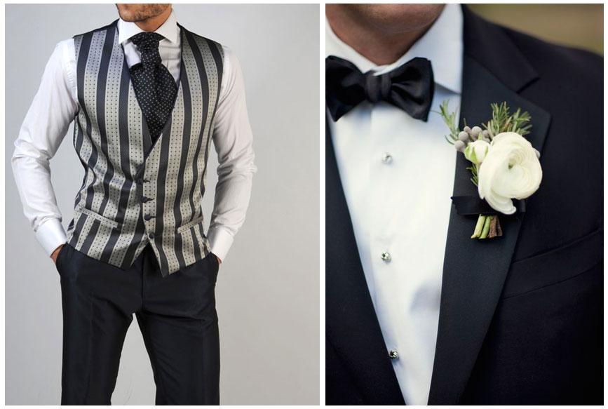 Cómo combinar la camisa y corbata con tu traje de novio (I)