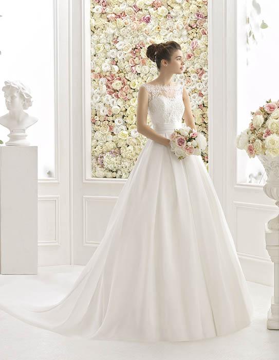 vestidos de novia aire zaragoza y madrid | d-etiqueta