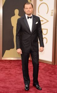 Leonardo Di Caprio con esmoquin_Oscar 2016
