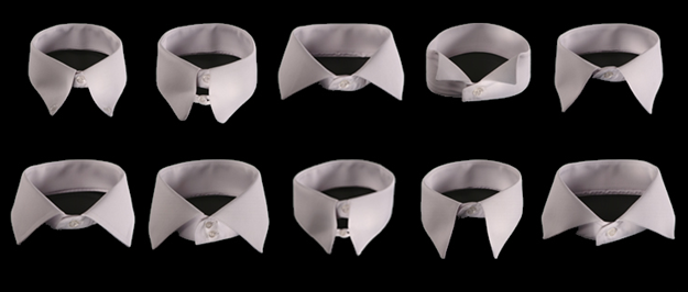 Tipos de cuellos de camisas para vestir